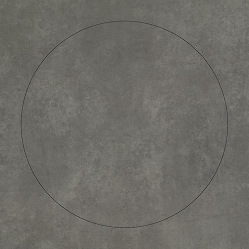 natural concrete circle 63522DR7
