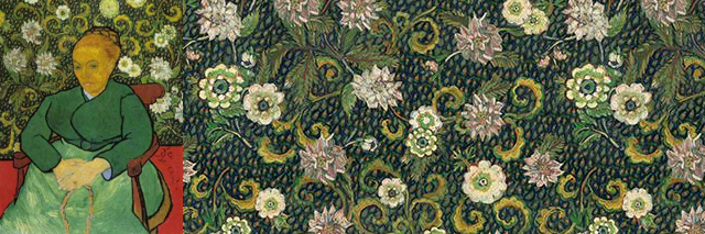 Floorin põrandad - Flotex inspired by van gogh